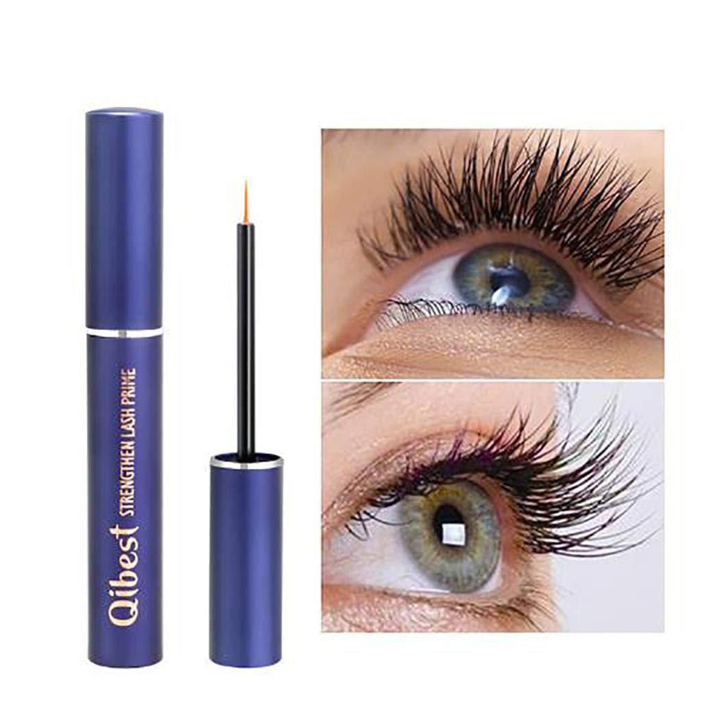 Qibest Eyelash Growth Serum to Grow Lashes, Eyelash Enhancer, Eyebrow Serum Rapid Growth Thicker, Longer, and Fuller Eyelashes