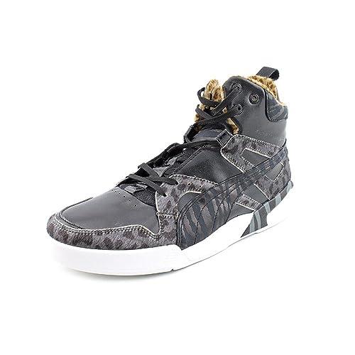 quality design 9970b 1ed83 PUMA Men s Future Trnmc Slipstream Lite Animal Print Black Sneaker 9 D ...