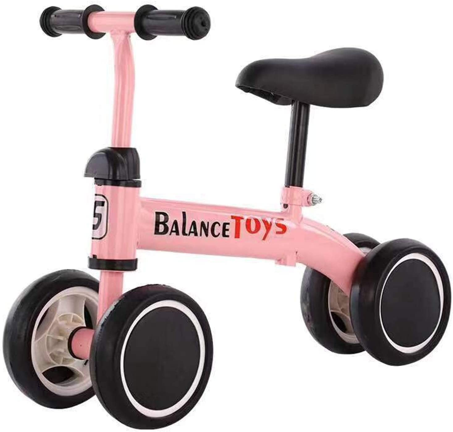 Bicicletas De Equilibrio Para Bebés, Bicicleta Para Bebés, Paseo En Bicicleta Para Niños De 2 A 8 Años, Niñas, Sin Pedal, 4 Ruedas, Bicicletas Para Bebés, Primer Regalo De Cumpleaños En Bicicleta