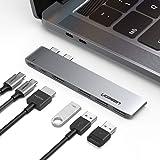 UGREEN USB C HUB Dual Type C to USB 3.0 Splitter HDMI Adapter for MacBook Pro 2016/2017/2018 Thunderbolt 3 USB-C Port USB HUB