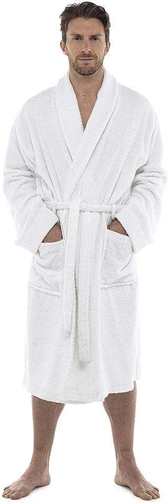 CityComfort Bata de baño para Hombres Bata de algodón 100% Terry ...