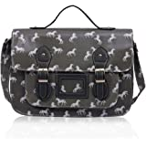 Boys School Bags Satchel Girls Oilcloth Kids Shoulder Cross Body Messenger Large