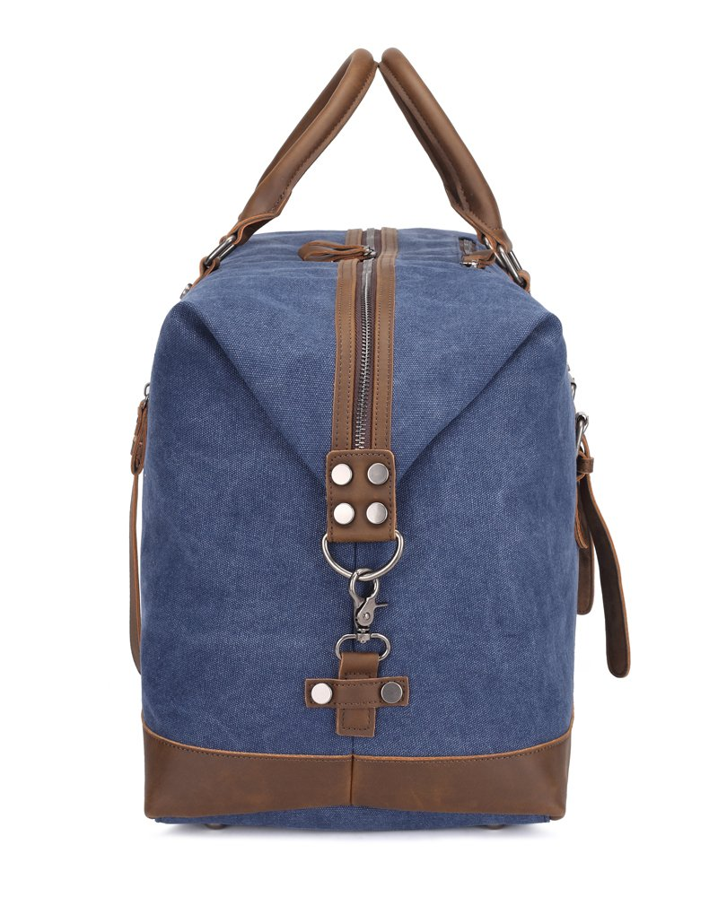 Weekend Bag Weekender Overnight Bag Canvas Vintage Travel Duffle for Men Women by UPANDFAST (Image #3)