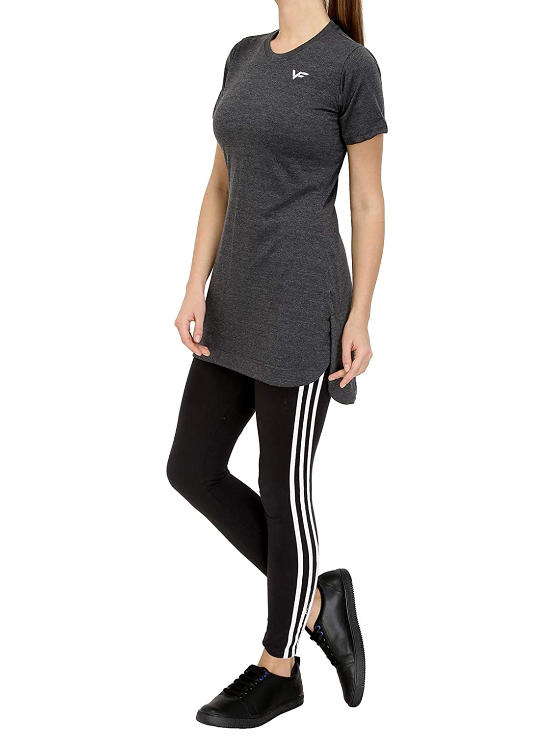 cea4534d7 Vero Forza Masq Long Tshirt for Sportswear - Activewear Half Sleeves  (Cotton)