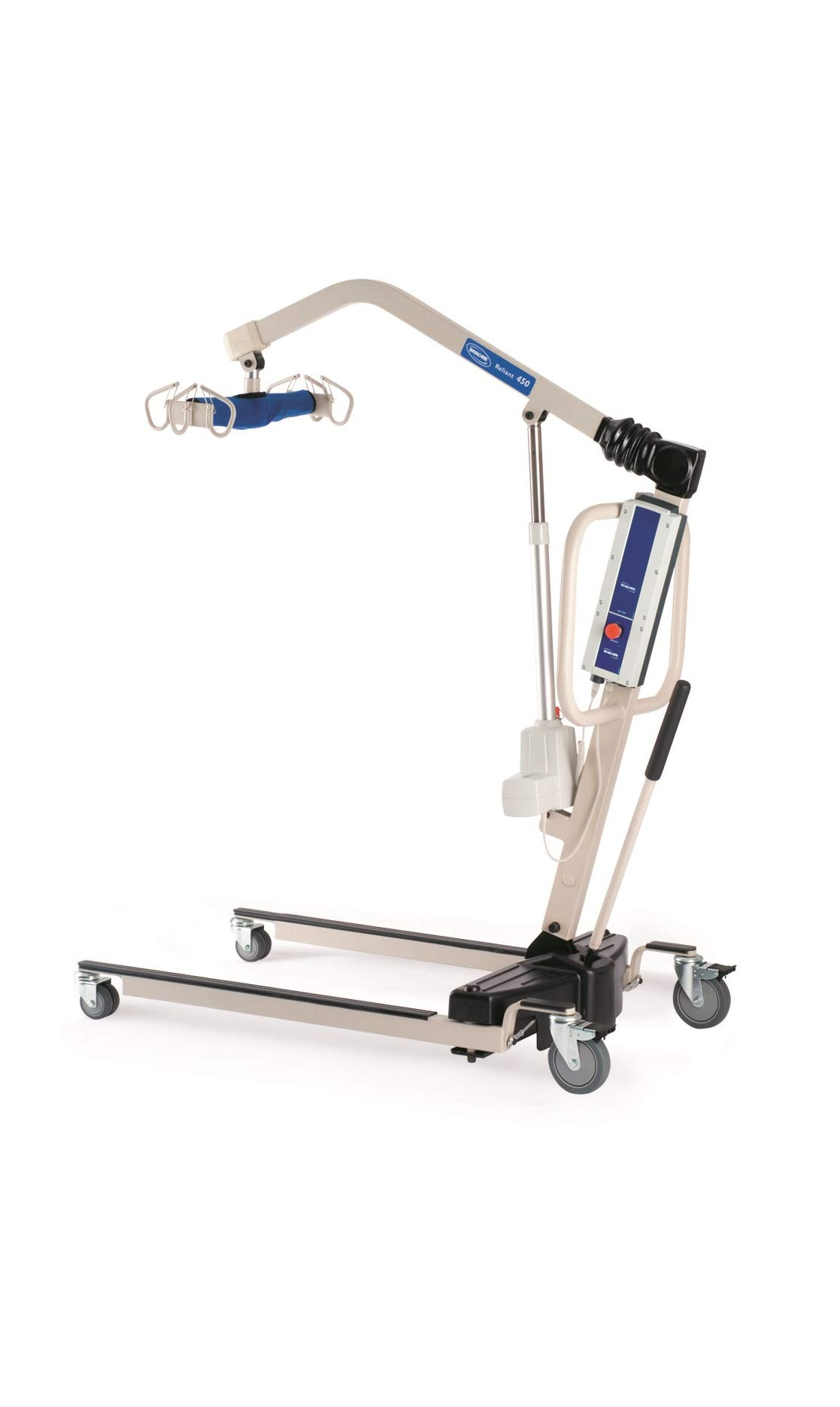 Invacare RPL450-1 Power Body Patient Lift (Invacare Reliant 450 Battery-Powered Lift with Low Base - RPL4501)