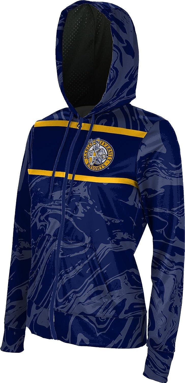 Ripple Girls Zipper Hoodie School Spirit Sweatshirt Marian University in