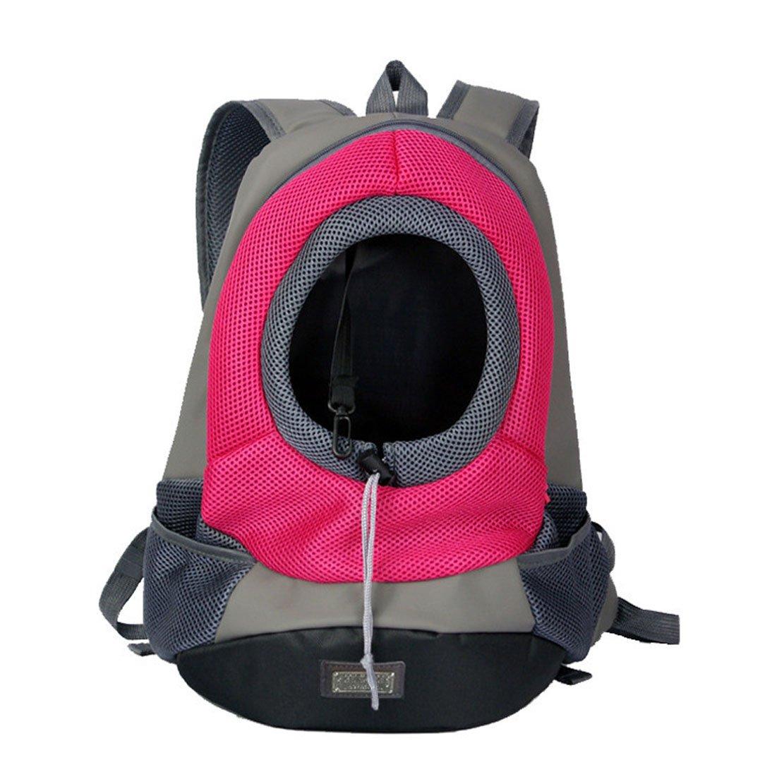Cipway Transportador De Mascotas Mochila para Perros Pequeños Gatos (M, Rosa Roja): Amazon.es: Productos para mascotas
