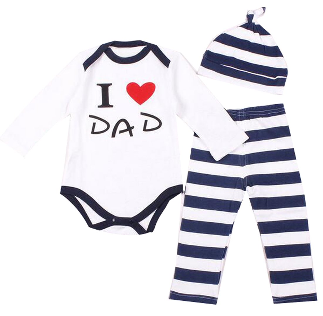 7d4aa0190457 Amazon.com  Yayu Kids Baby Newborn Boy Girl Cartoon Heart Polka Dot ...