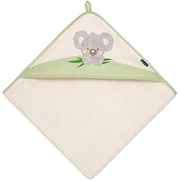 Morgenstern Kinder Badeponcho Koala gr/ün