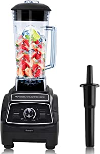 Huanyu Blender Multi-functional 1800W 68Oz(2L) Vegetable Fruit Smoothie Mix Crush Mix Household Commercial Professional-Grade PSE Certification English Manual Included (1800W)