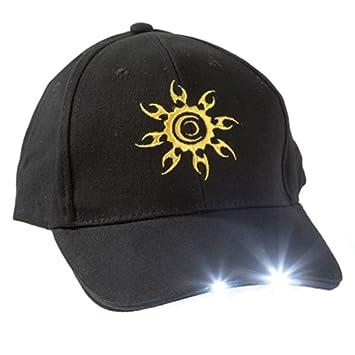 Toolpack Gorra de trabajo polivalente con LED, 360.094: Amazon.es ...