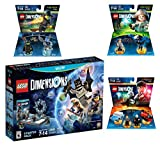 Lego Dimensions Magical Starter Pack + Harry Potter Team Pack + Fantastic Beasts Tina Goldstein Fun Pack + The Wizard Of Oz Fun Pack for Nintendo Wii U Console