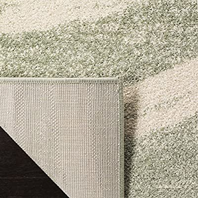 Safavieh Adirondack Collection Charcoal and Ivory Area Rug