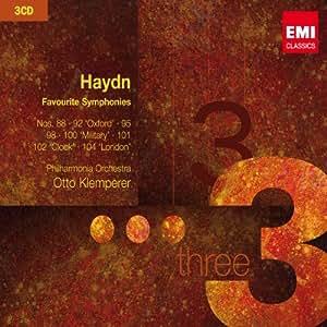 Haydn: Favourite Symphonies ~ Klemperer
