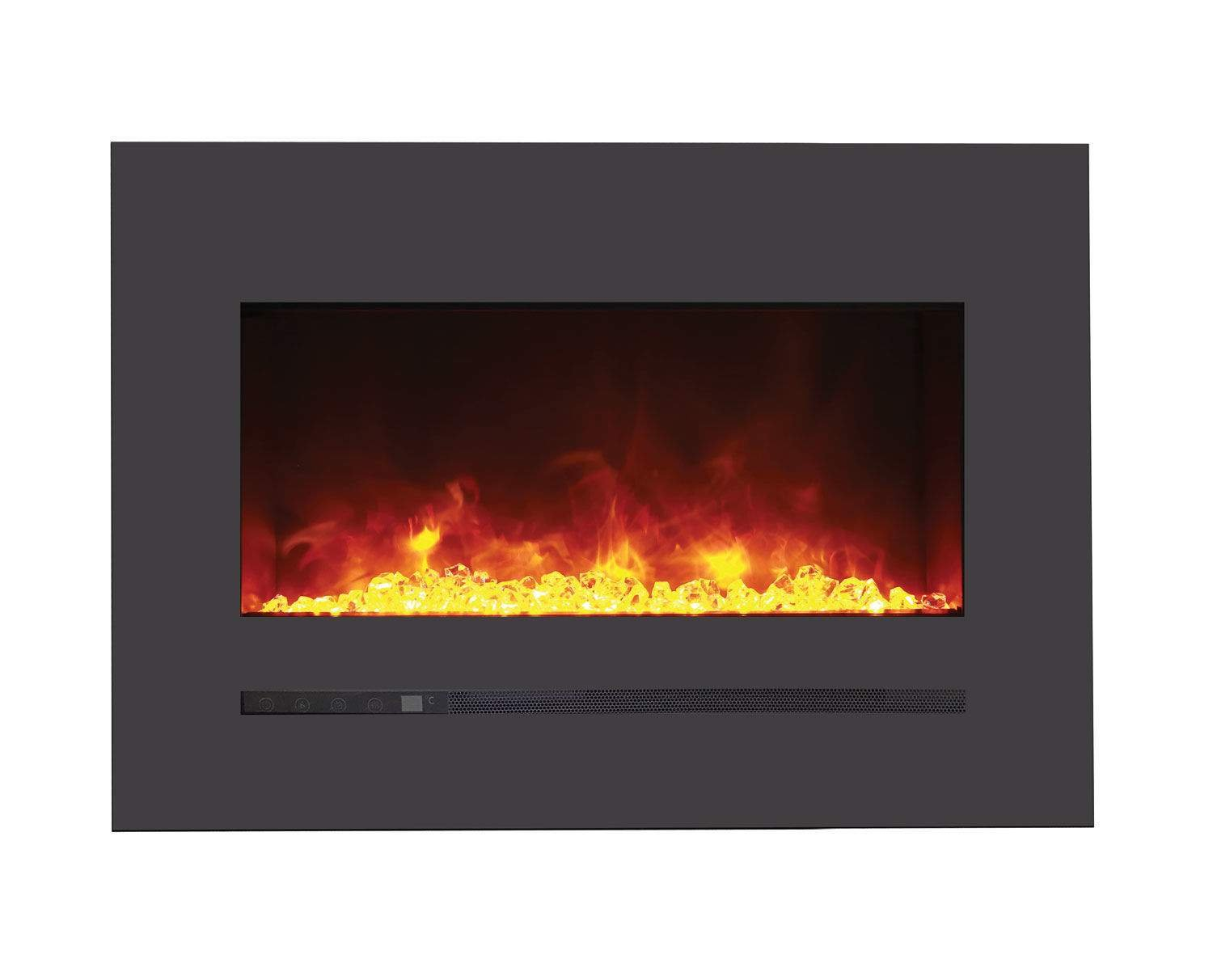Sierra Flame Electric Fireplace with Surround (WM-FML-26-3223-STL), 26-Inch by Sierra Flame