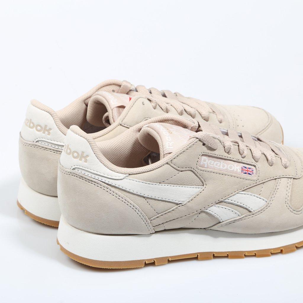 Reebok, CL Leather TL BEIGE Sneaker für Damen: