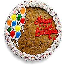 "The Great Cookie 13-inch 'Happy Birthday Balloon"" Giant Cookie Cake (Snickerdoodle Cookie)"