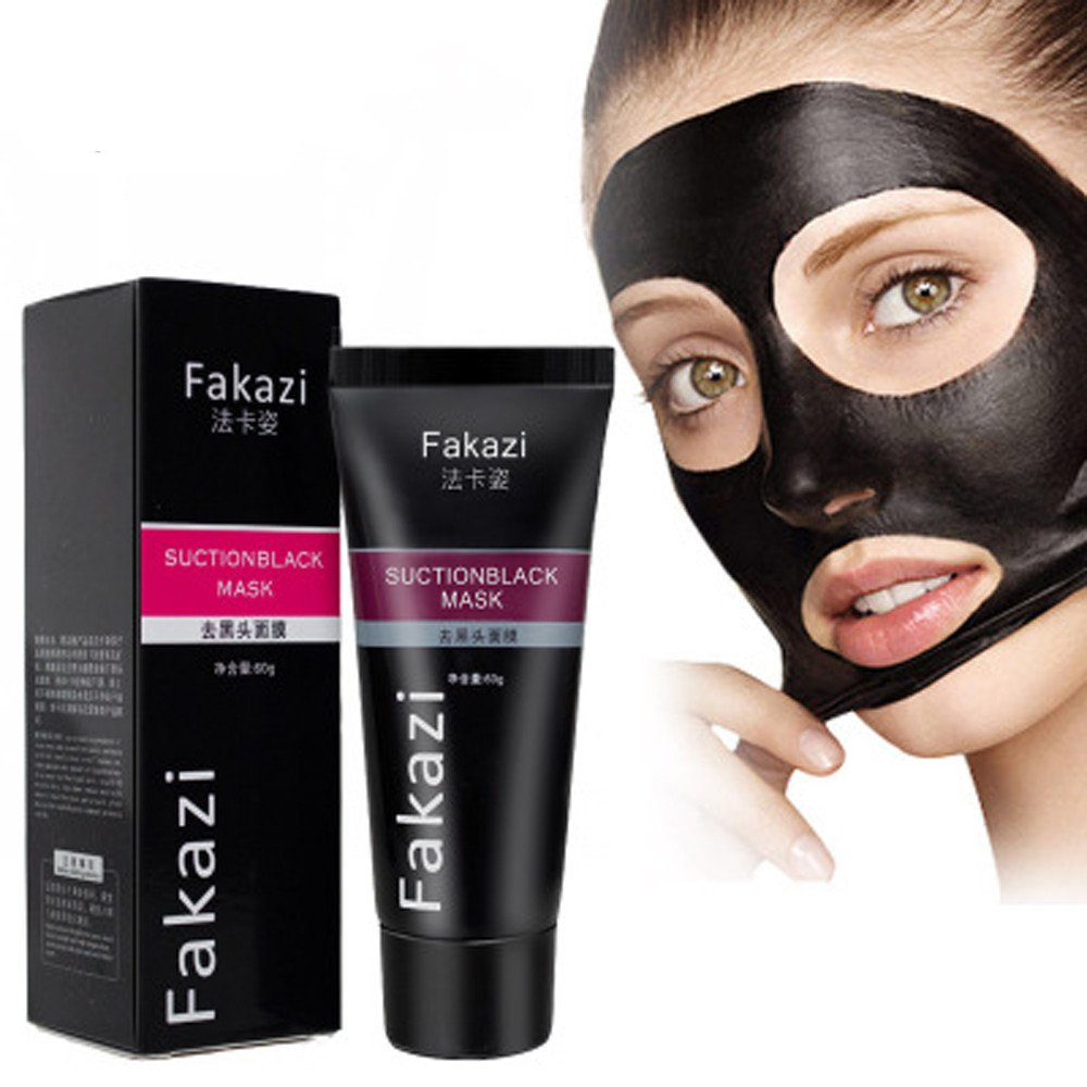 Remove Blackhead Facial Mask, VENMO Black Mud Deep Cleansing Purifying Peel Off Facail Face Mask