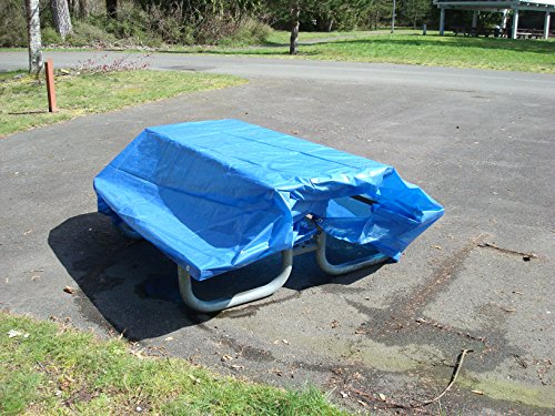 12' x 20' Dry Top Blue Full Size 7-mil Poly Tarp item #012200
