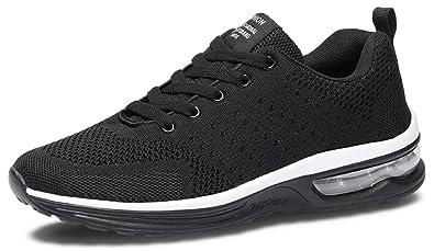 713bec30782e Amazon.com   XIANV Men Walking Shoes Flying Weaving Sneaker 35-47 ...