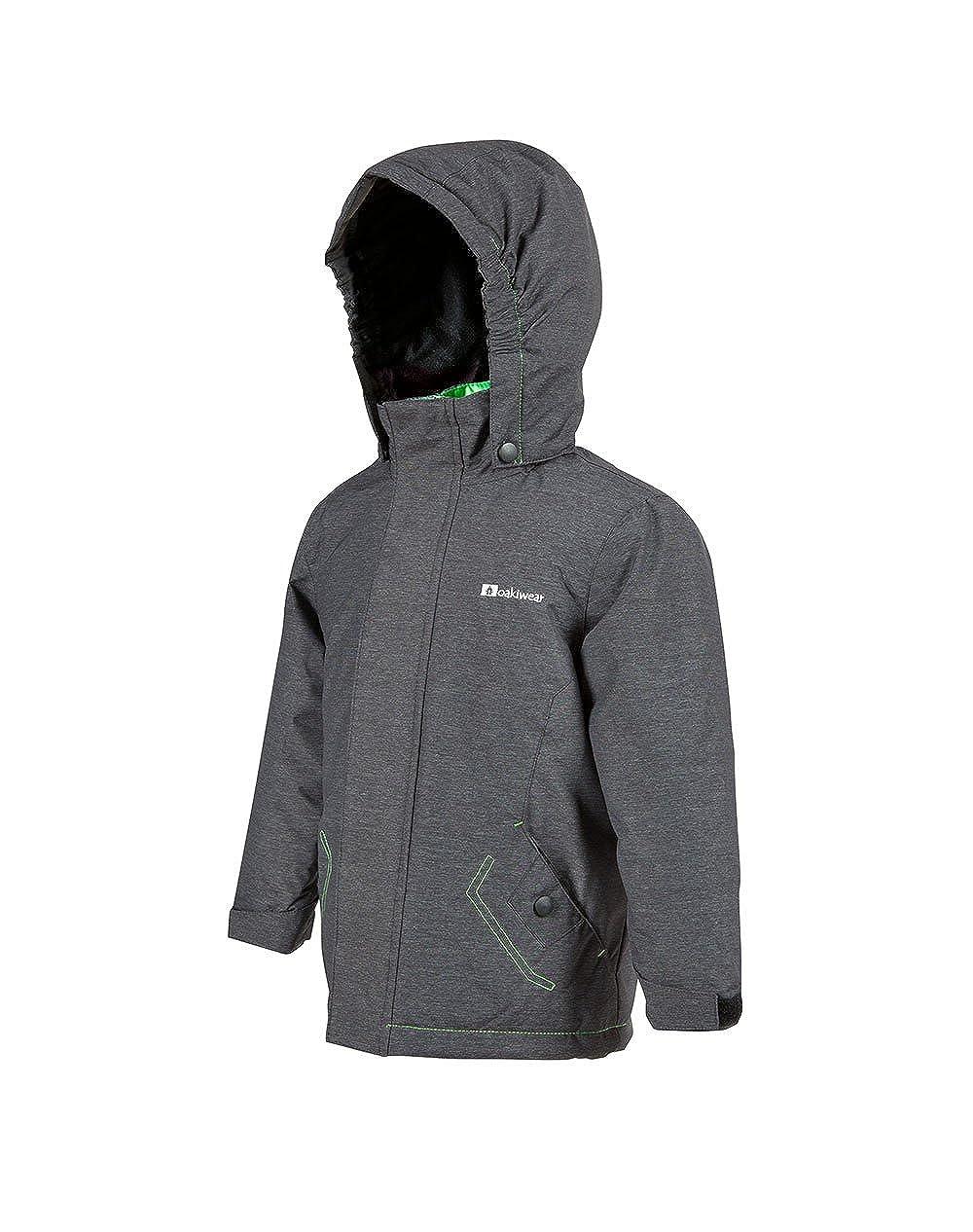 Oakiwear Children's Ski Coat with Hood & Waist Snow Gaiter