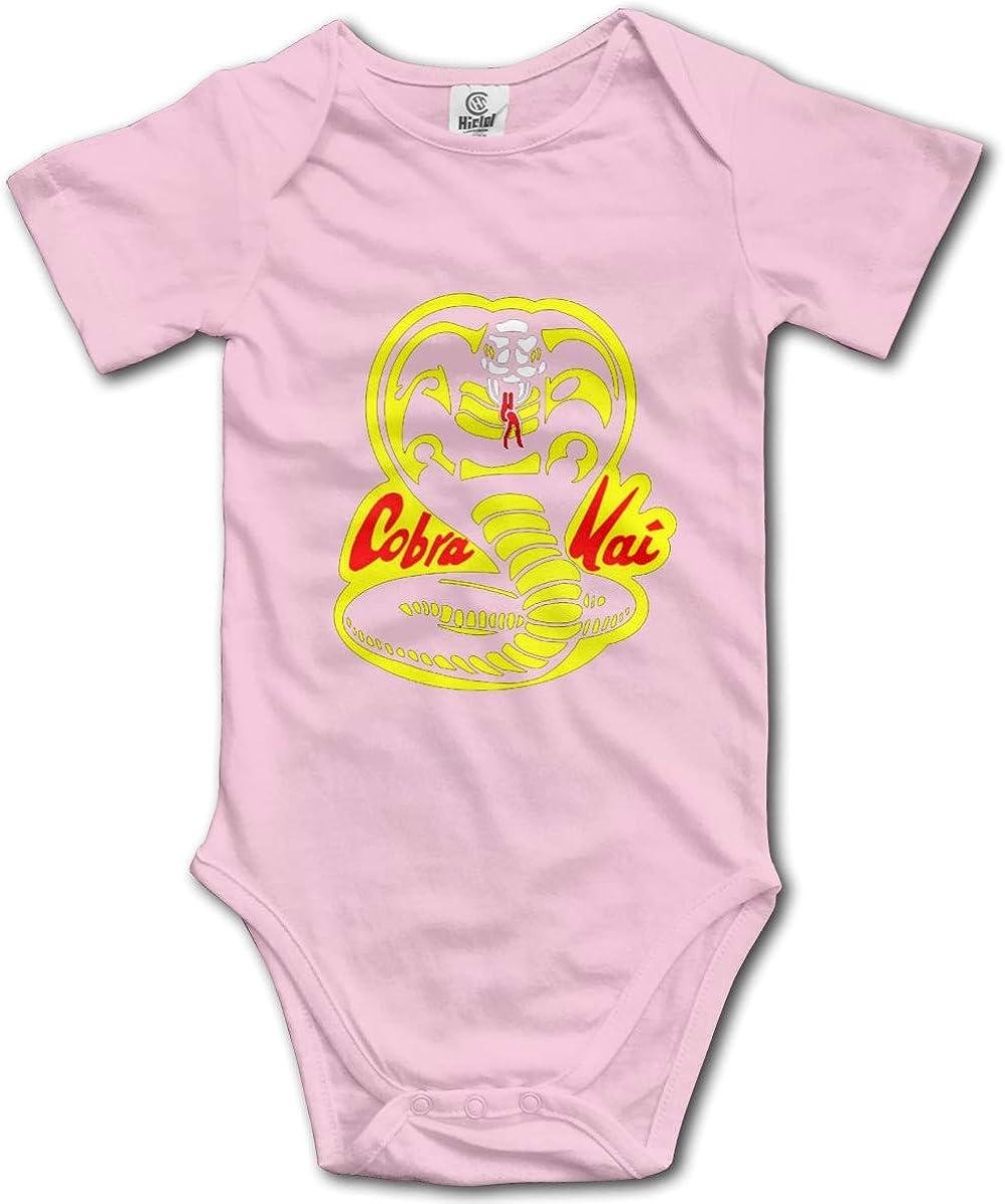 Baby Cobra Baby Romper 0-18 Months Newborn Baby Girls Boys Layette Rompers Black