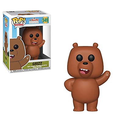 Funko Pop! Animation: We Bare Bears - Grizz: Toys & Games