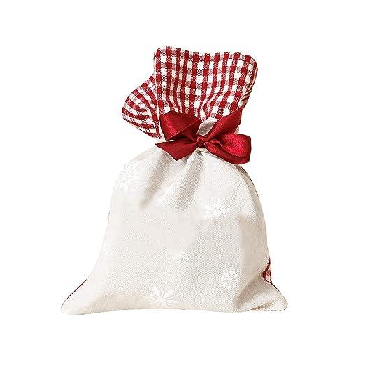 Gingham Snowflake - Bolsas de regalo para boda, diseño de ...