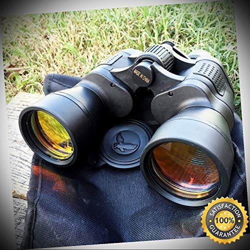 - DAY/NIGHT 20x50 Good Quality Ruby Coated Binoculars Black nib - Outdoor For Camping Hunting Cosplay