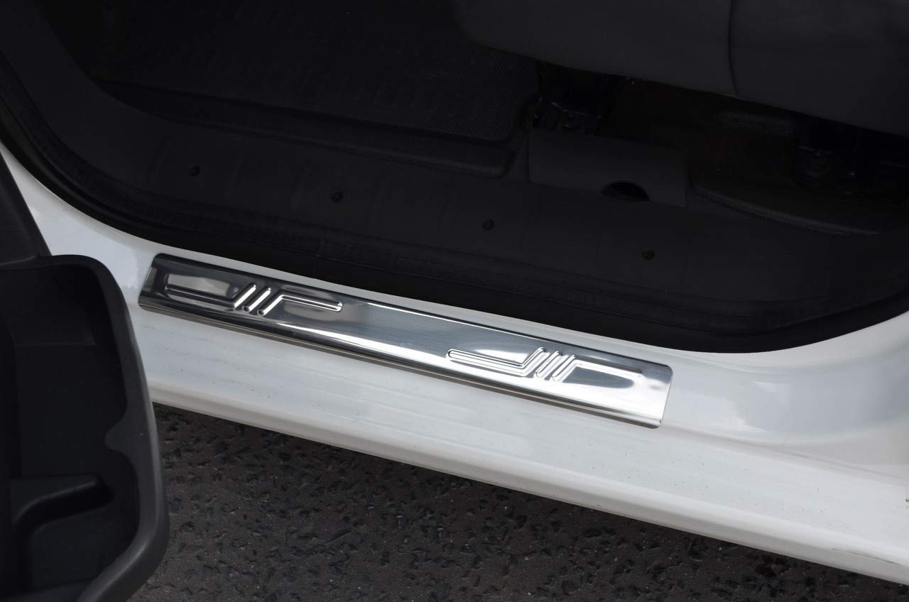 2005-14 Chrome Door Sill Protectors To Fit 107