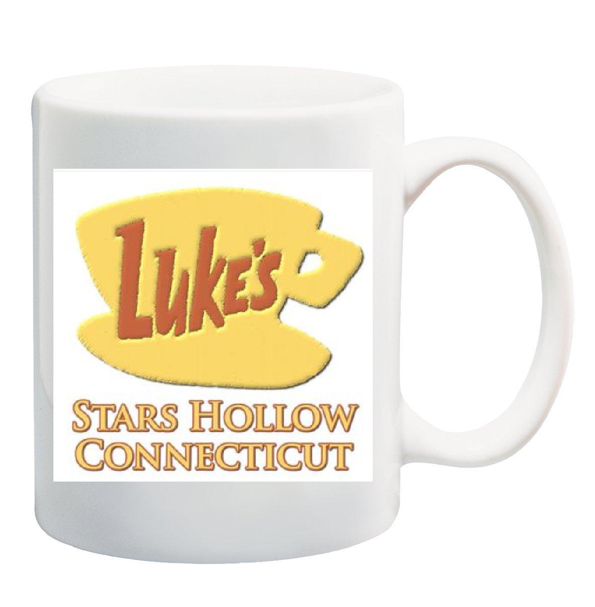 LUKE'S STARS HOLLOW CONNECTICUT Mug Cup - 11 ounces: Amazon.co.uk: Kitchen  & Home