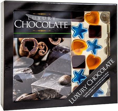 Creez Vos Propres Chocolat Coffret Cadeau Avec Livre De Recettes