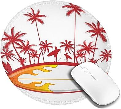 7.9x7.9in Go Surfing Redondo Gaming Oficina Teclado Pad ...