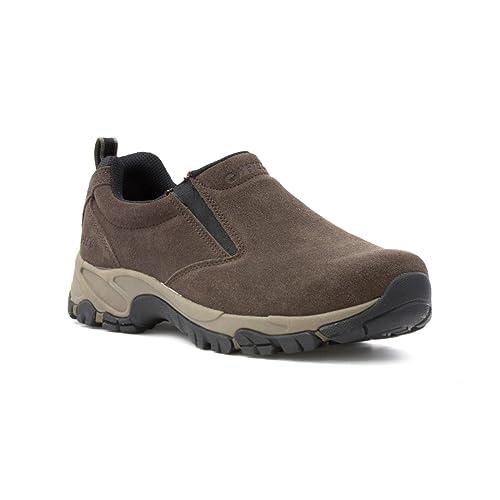 Hi-Tec - Mocasines de Piel para hombre, color Marrón, talla 41 EU: Amazon.es: Zapatos y complementos