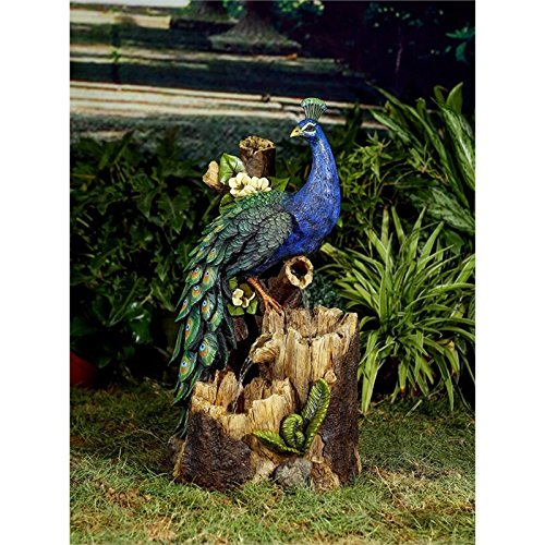 Jeco Inc. FCL170 Peacock Outdoor Fountain