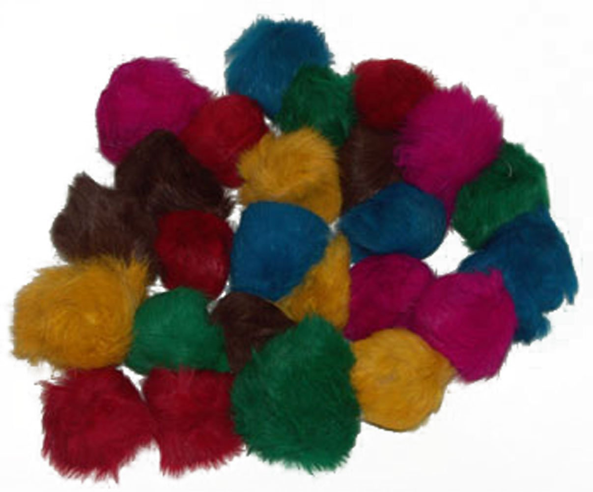 24 Assorted CoolCyberCats Bat Around Fur Balls (2-2 5 inches