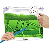 Forin Ant Nursery Castle Farm Maze with Feeding System Live Ant Viewing Habitat Color Blue