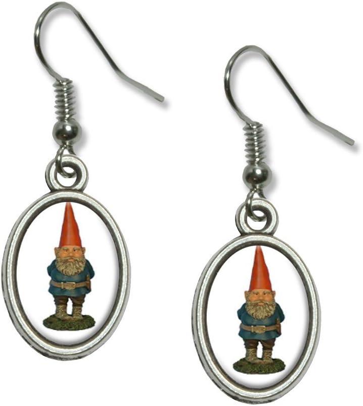 gnome figure earrings Gnome earrings gardening earrings garden spring earrings garden gnomes you pick one gnomes garden gnome earrings