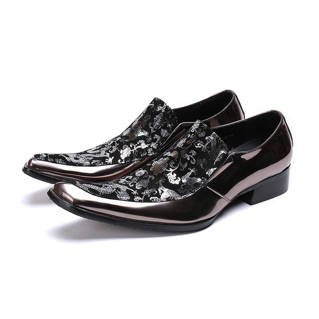 d127e7f5c62d Amazon.com: DANDANJIE Men's Dress Shoes Leather Casual Oxford Shoes ...