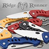 Ridge Runner Jar of Pocket Knives - 36 Knives in Counter Display Jar