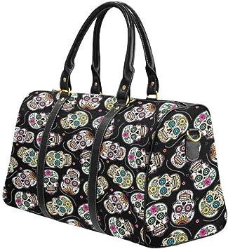Sugar Skull Weekender Bag