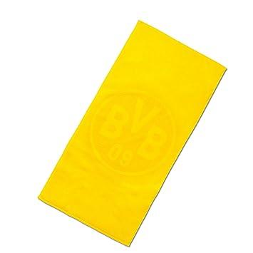 Borussia Dortmund BVB-Handtuch Emblem schwarz one Size