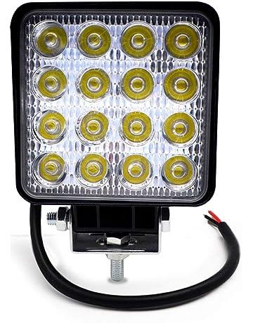 Sharplace Proyector de Faros LED L/ámpara Auxiliar Antiniebla para Moto