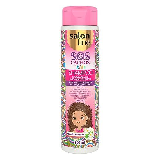 Amazon.com : Linha Tratamento (SOS Cachos) Salon Line - Shampoo Kids 300 Ml - (Salon Line Treatment (SOS Curls) Collection - Kids Shampoo 10.14 Fl Oz) : ...