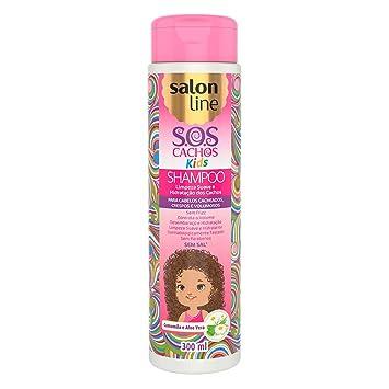 Linha Tratamento (SOS Cachos) Salon Line - Shampoo Kids 300 Ml - (Salon