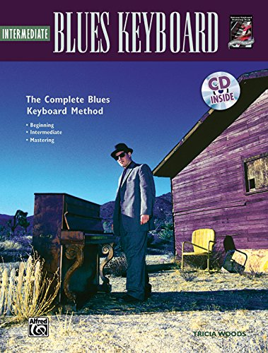 Complete Blues Keyboard Method: Intermediate Blues Keyboard, Book & CD (Complete Method)