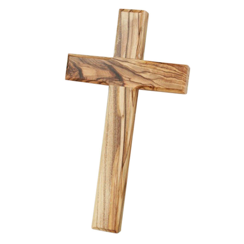 Anzmann Crucifix en bois dolivier