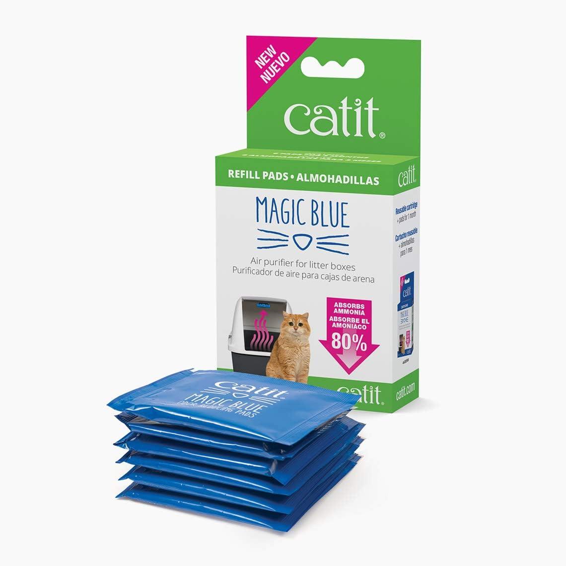 Catit Recambio Magic Blue, 6 Unidades