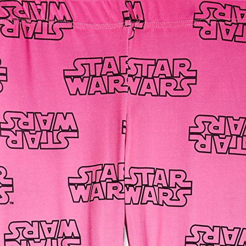 Star Wars Little Girls and Tweens Ombre Logo Legging (X-Large) by Mini Fine (Image #1)
