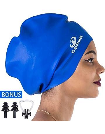 6464ca0e5be046 Dsane Extra Large Swimming/Shower Cap for Women and Men,Special Design Swim  Cap